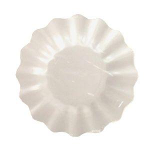 Platos postre blanco perla 8 und