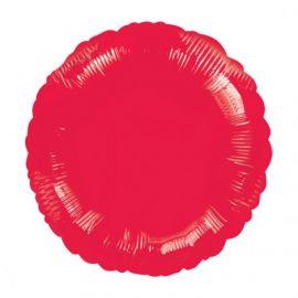 Globo helio circulo rojo