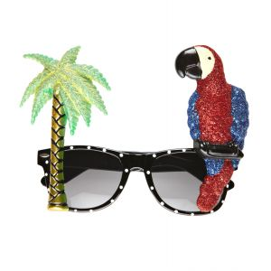 Gafas hawaianas loro