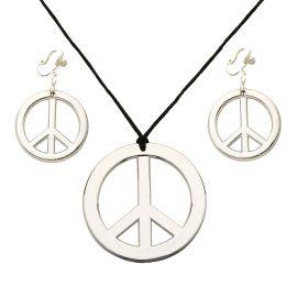Set collar y pendientes hippie