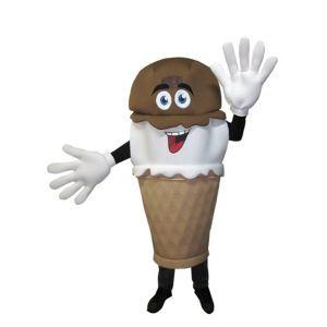 Disfraz helado cucurucho