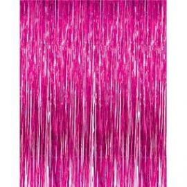 Cortina metal rosa