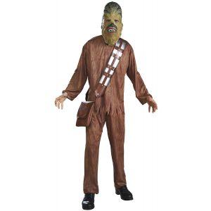 Disfraz chewbacca adulto con mascara
