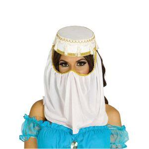 Sombrero arabe princesa con velo