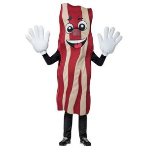 Disfraz bacon divertido
