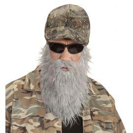 Gorra cazador con barba