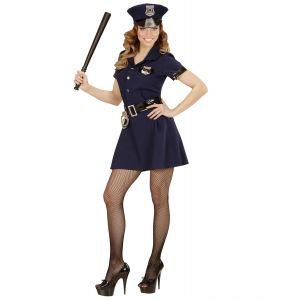 Disfraz policia chica