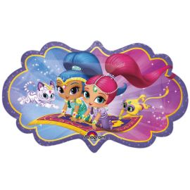 Globo helio shimmer and shine