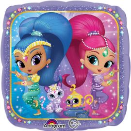 Globo helio Shimmer and Shine pequeño