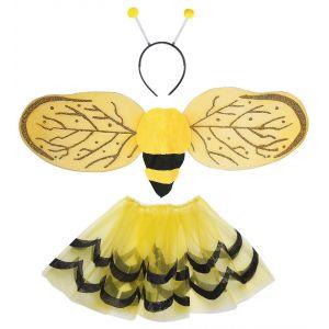 Set abeja con tutu alas y antenas