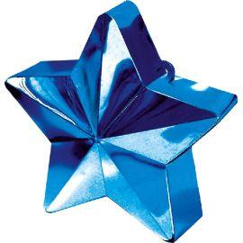 Peso saquito estrella azul marino