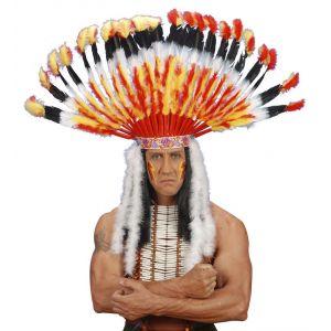 Penacho indio lujo con marabu