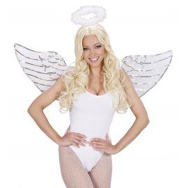 Set angel lentejuelas