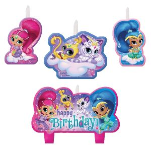Velas shimmer and shine 4 und