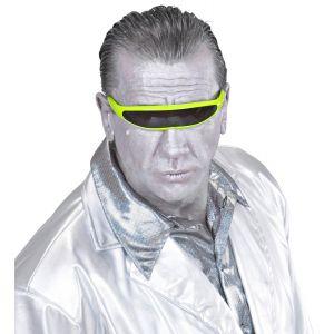 Gafas robot verdes