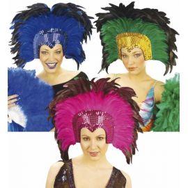 Tocado plumas crazy surt