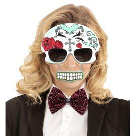 Gafas craneo dia de los muertos