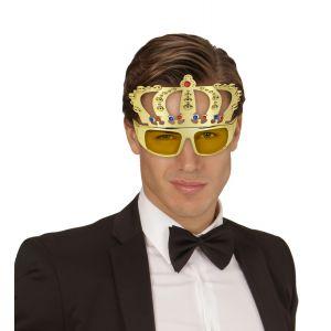 Gafas con corona rey