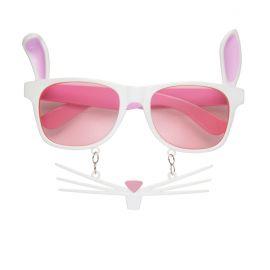 Gafas conejo con bigote