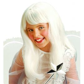 Peluca blanca infantil