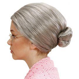 Peluca abuela infantil