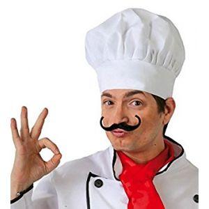 Sombrero cocinero corto