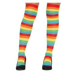 Medias calcetines rayas colores