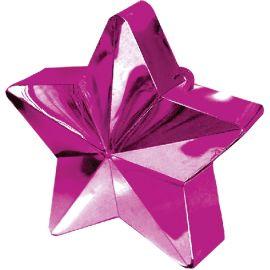 Peso saquito estrella rosa fuerte