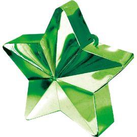 Peso saquito estrella verde