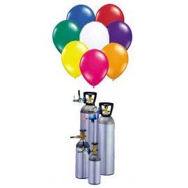 Alquiler botella de helio para 100 globo