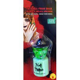 Pintauñas verde bruja