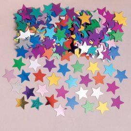 Confeti estrellas colores surt