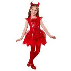 Disfraz diablesa brillante