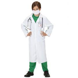 Disfraz doctor bata y mascarilla