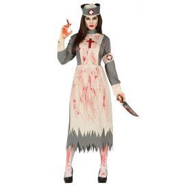 Disfraz enfermera clasica sangre