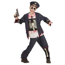 Disfraz policia zombie infan