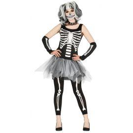 Disfraz tutu skeleton