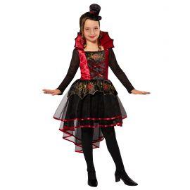 Disfraz vampira corto
