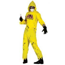 Disfraz zombie radiactivo