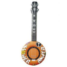 Banjo hinchable naranja