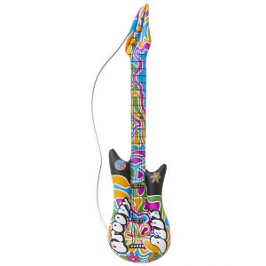 Guitarra hinchable groovy