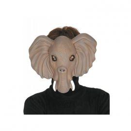 Mascara elefante divertido