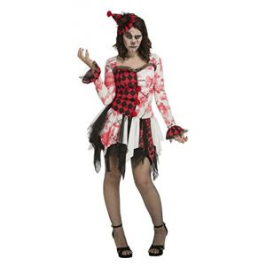 Disfraz payasa diabolica deluxe