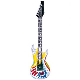 Guitarra inflable funky