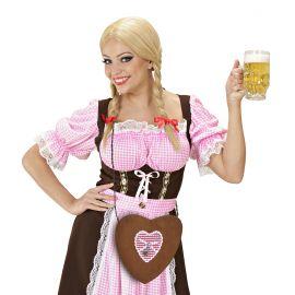 Bolso corazon fiesta alemana