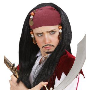 Peluca pirata con pañuelo infantil