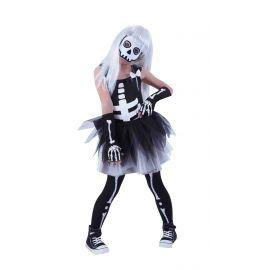 Disfraz esqueleta tutuween infantil