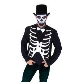 Chaleco esqueleto adulto