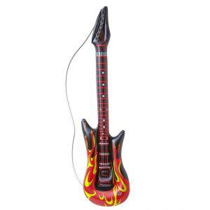 Guitarra inflable llamas rockstar