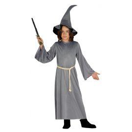 Disfraz mago gris infantil
